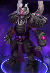 Artanis recolored skin from heroes of the storm