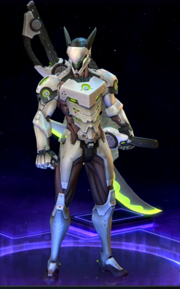genji dragon skin