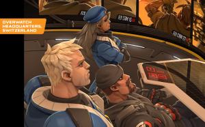 Commander Morrisson, Ana and Gabriel