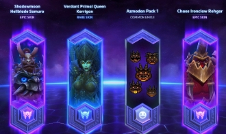 heroes of the storm loot box
