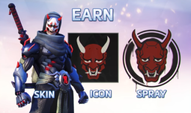 Week one Overwatch rewards with oni genji