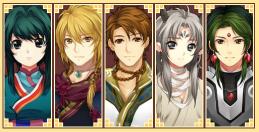 Dragon Essence Characters art