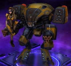 Goliath D.Va Heroes of the Storm