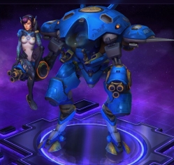 Major D.Va Heroes of the Storm