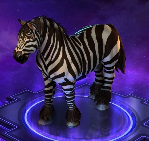 Heroes of the STorm Zebra Mount