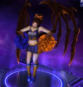 Dorm Cheerleader Kerrigan