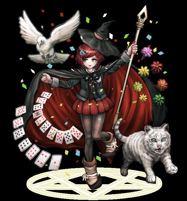 Character_art_DanganronpaV3_himiko_yumeno_ultimate_magician