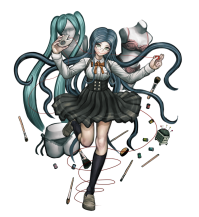 Character_art_DanganronpaV3_Tsumugi_shirogane_ultimate_cosplayer