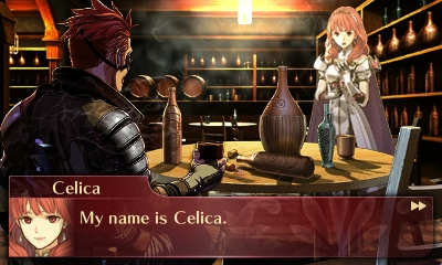 Celica Screenshot Fire Emblem Echoes