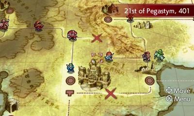 Fire Emblem Echoes Map