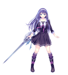 ValkyrieDrive_Characters_KoharuTsukikage_art