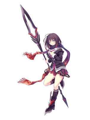 ValkyrieDrive_Characters_MomoKuzuryu_art