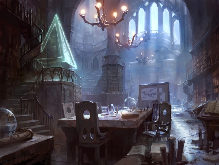 Dungeons&Dragons_artwork_Wizard_room