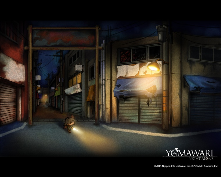Yomawari Wallpaper